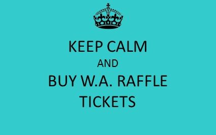 WAPTA RAFFLE TICKETS are now on sale!!! Purchase yours today for a chance to win!